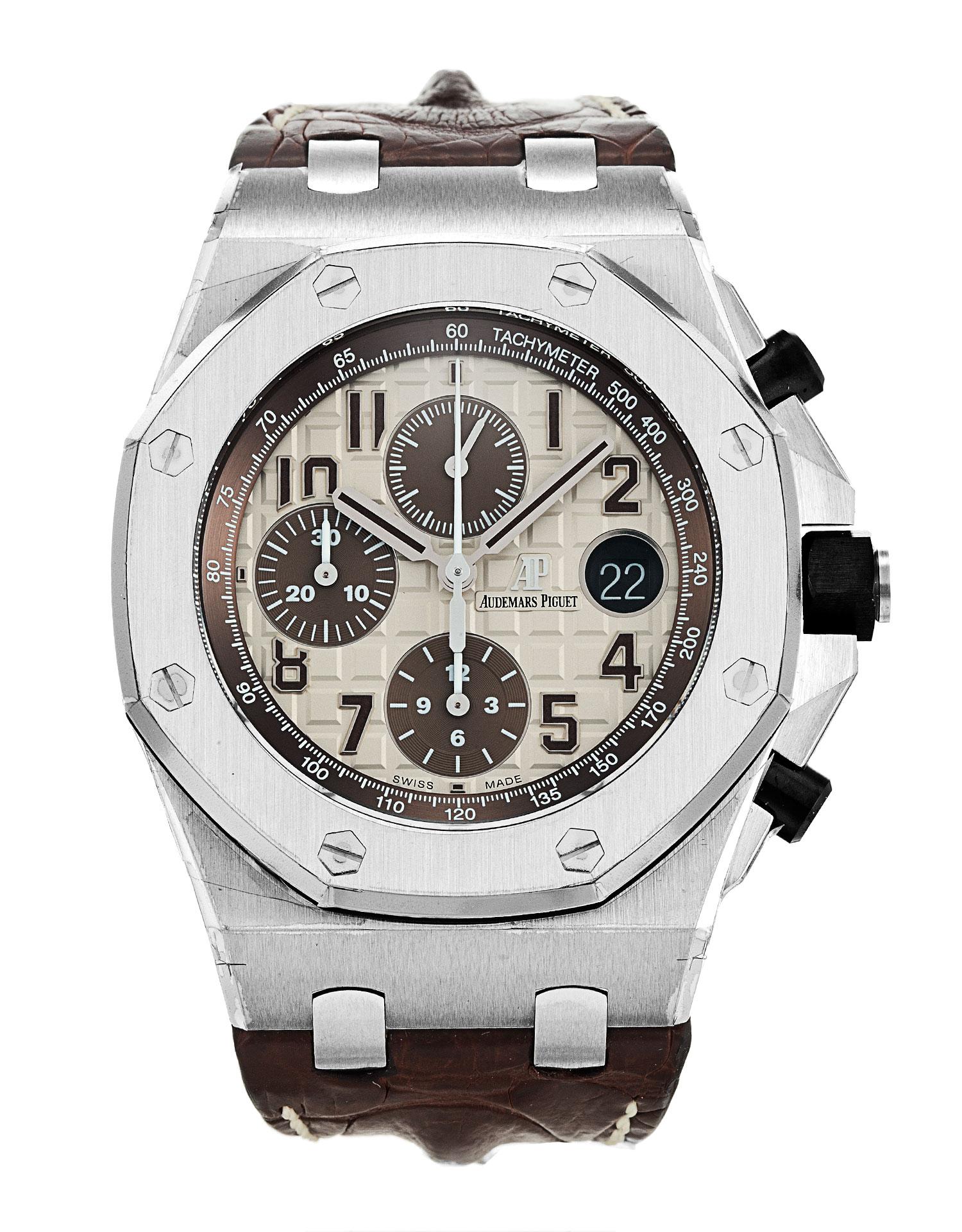 Audemars piguet royal oak offshore 26470st oo watch watchfinder co for Royal oak offshore n7243