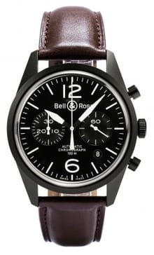 Bell and Ross Vintage 126 BRV126-BL-CA/SCA