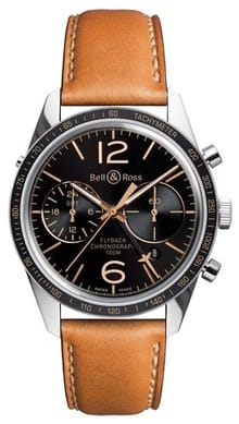 Bell and Ross Vintage 126 BRV126-FLY-GMT/SCA