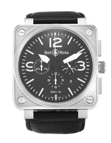 Bell and Ross BR01-94 Chronograph Steel