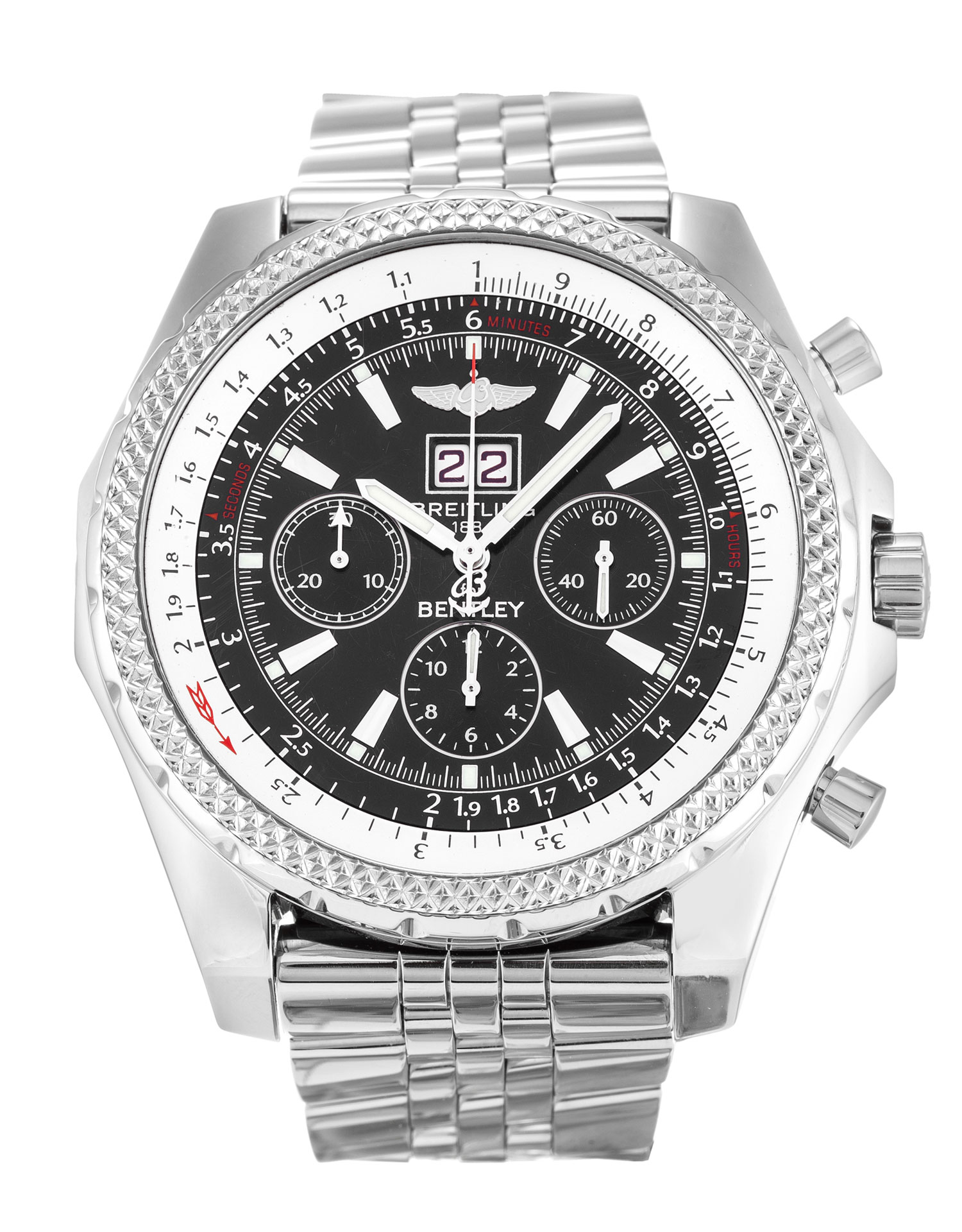 Breitling Bentley 6 75 A44362 Watch Watchfinder Co