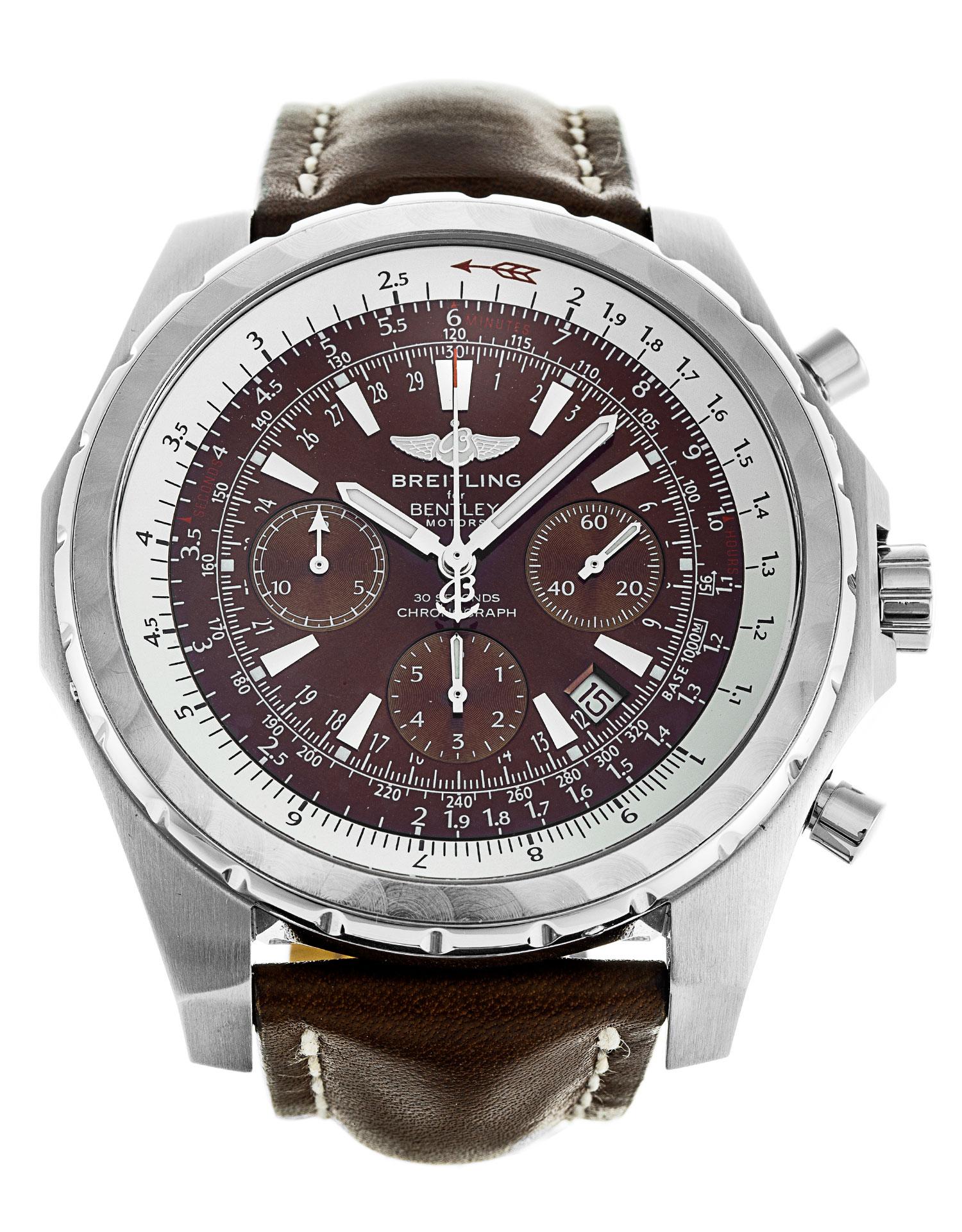 Breitling bentley motors t a25363 watch watchfinder co for Bentley motors net worth