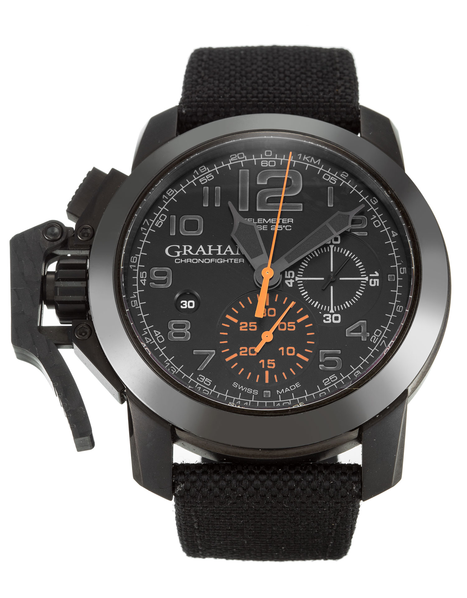 Graham Chronofighter Oversize 2CCAU.B01A.T12N