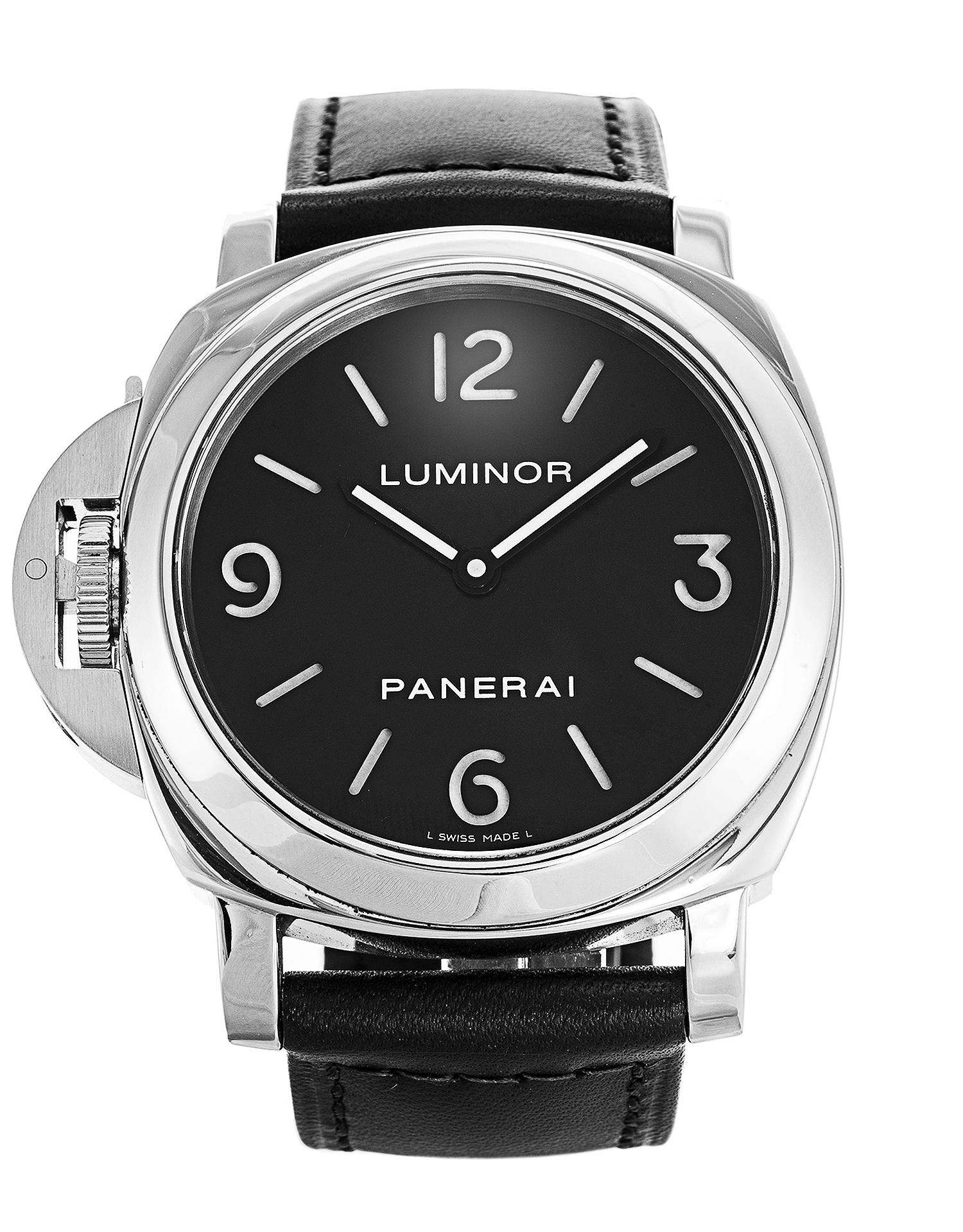buy online 83a60 9840e Panerai Luminor Base PAM00219 Watch | Watchfinder & Co.