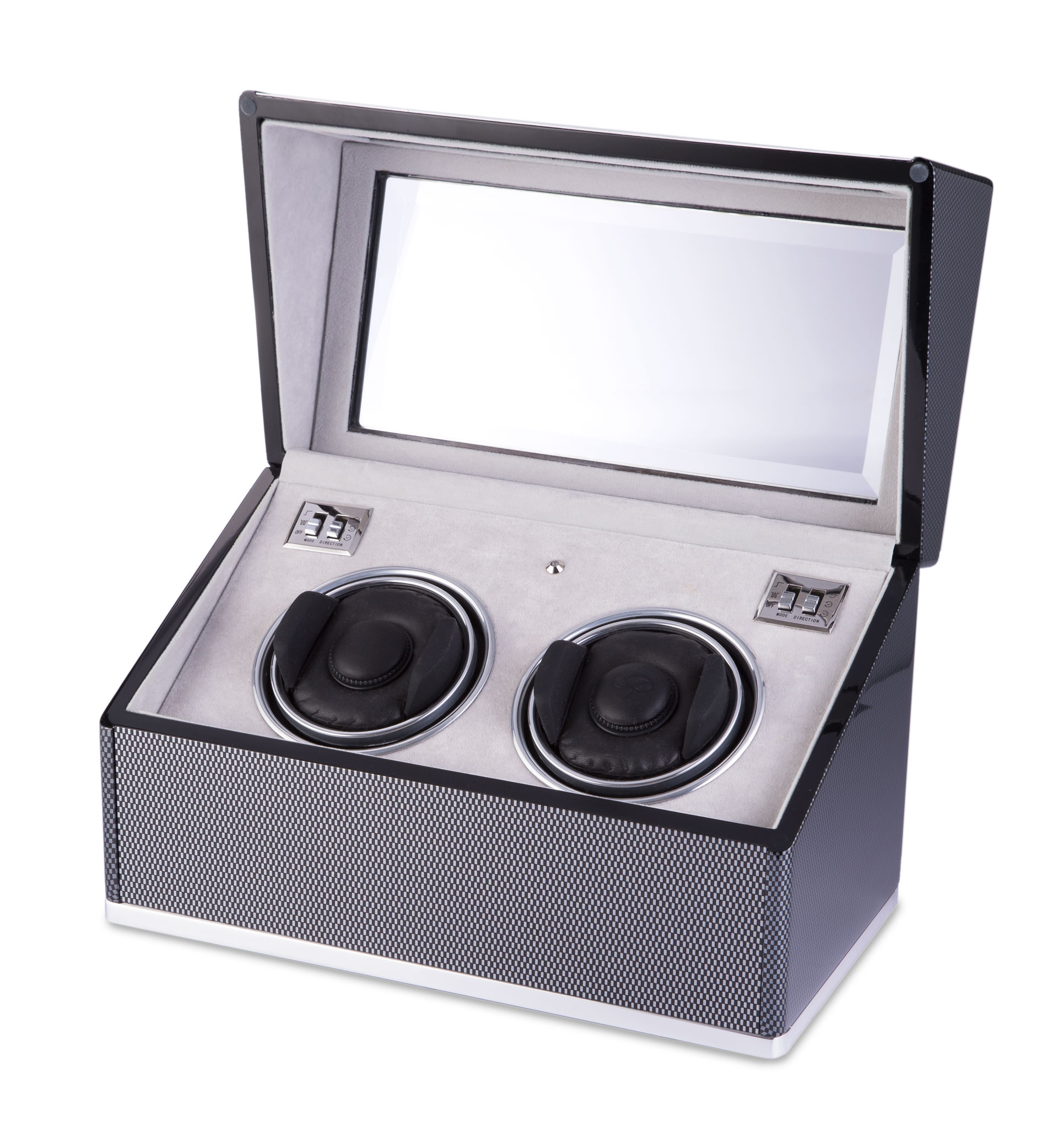 F3 Duo Carbon Fibre Watch Winder
