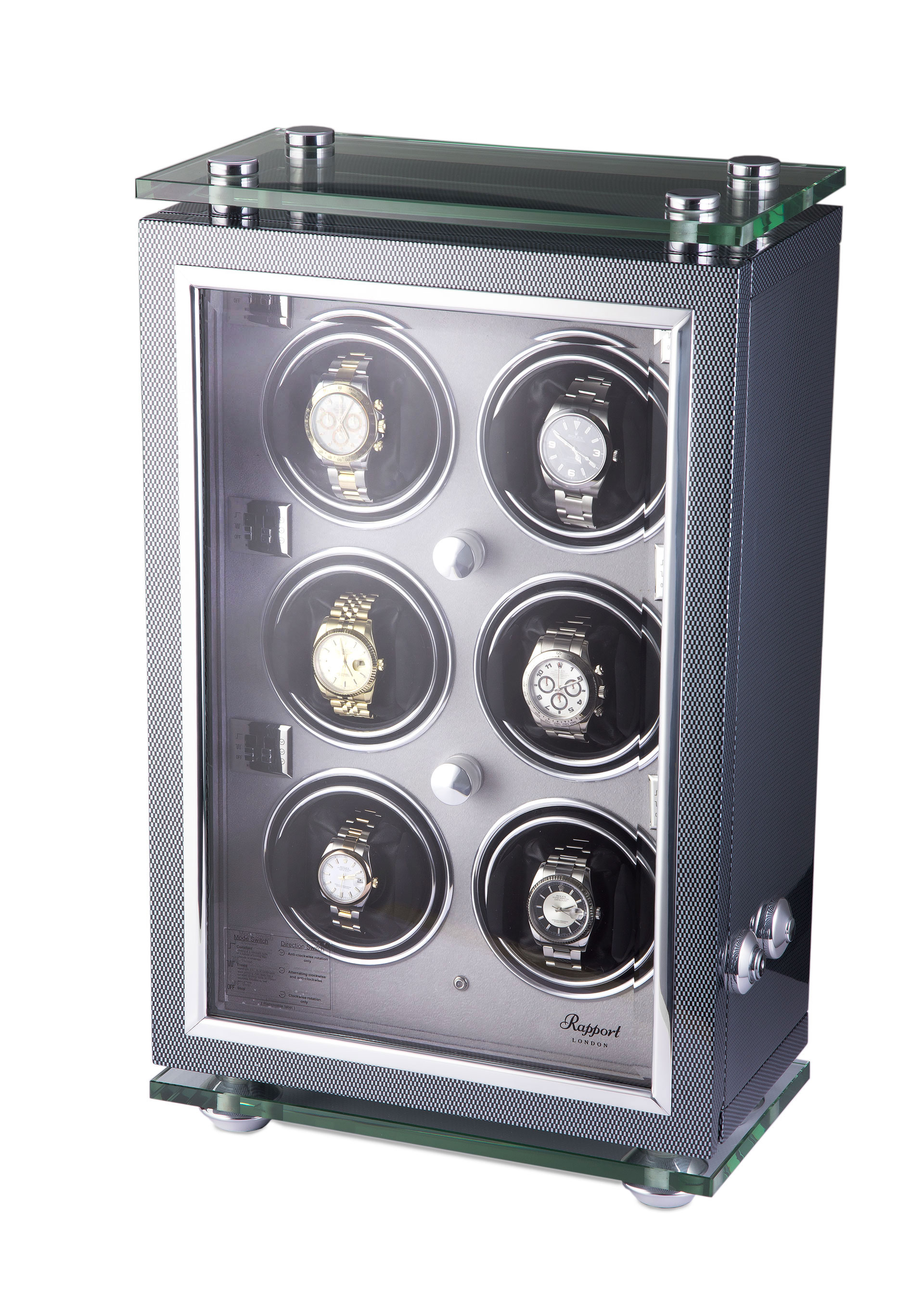 6 Watch Winder Cabinet
