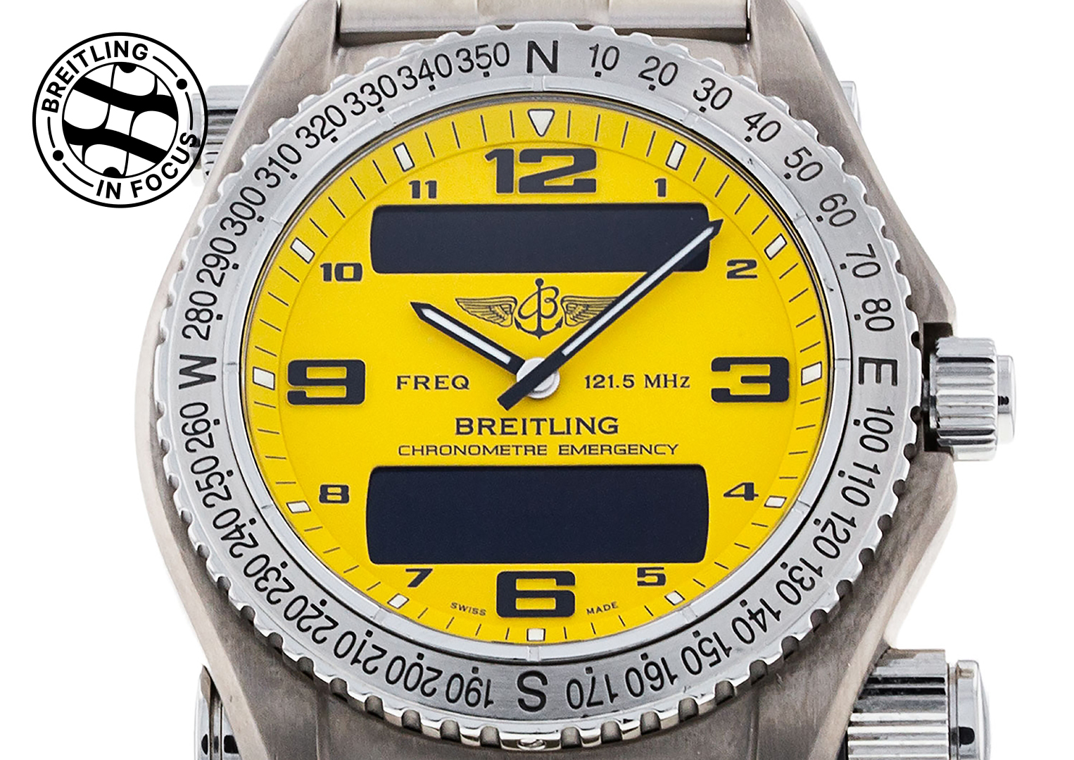 The Breitling Emergency watch has frequently come to the rescue of its wearer