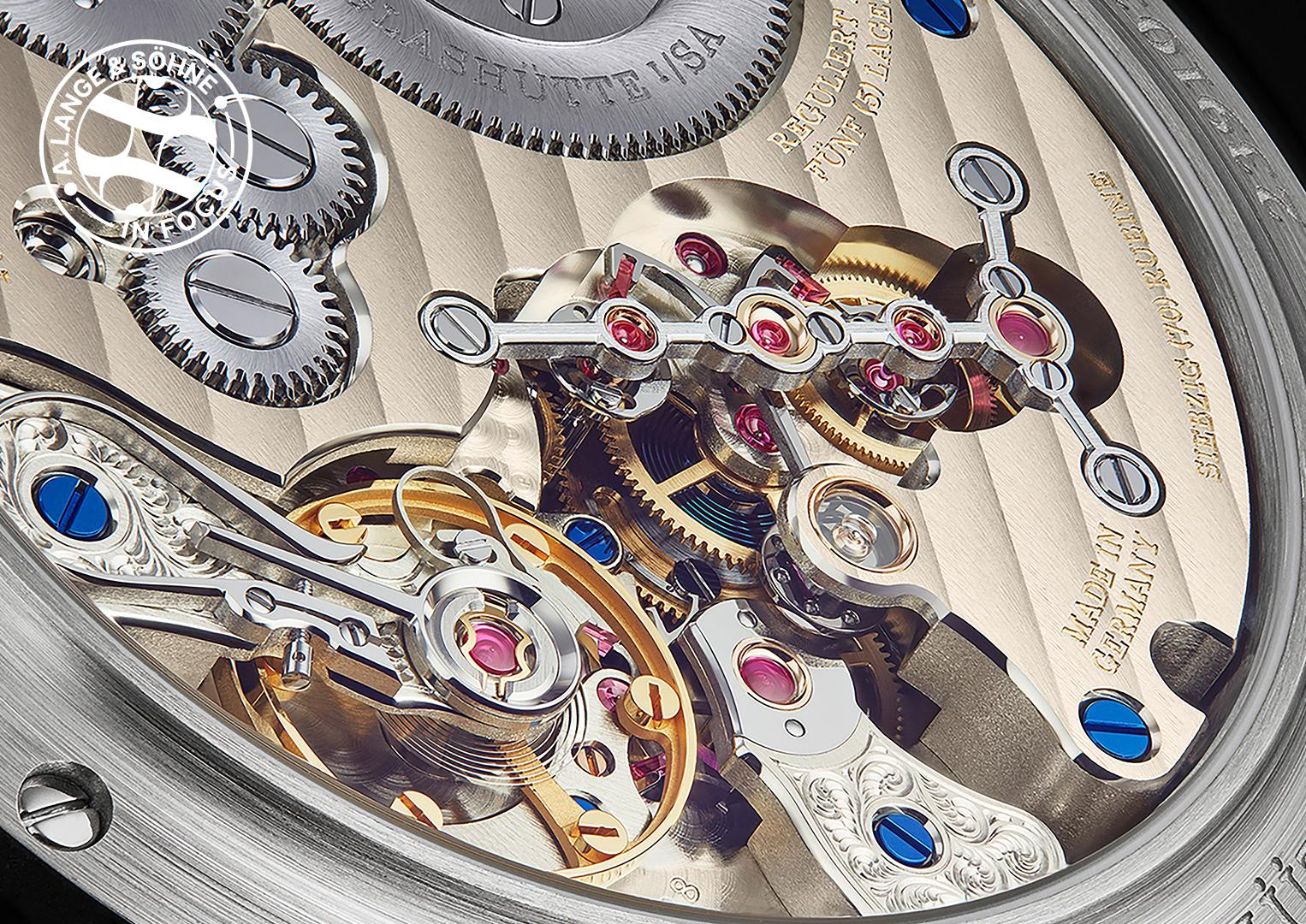 The Zeitwerk's calibre required the development of an innovative new mechanism