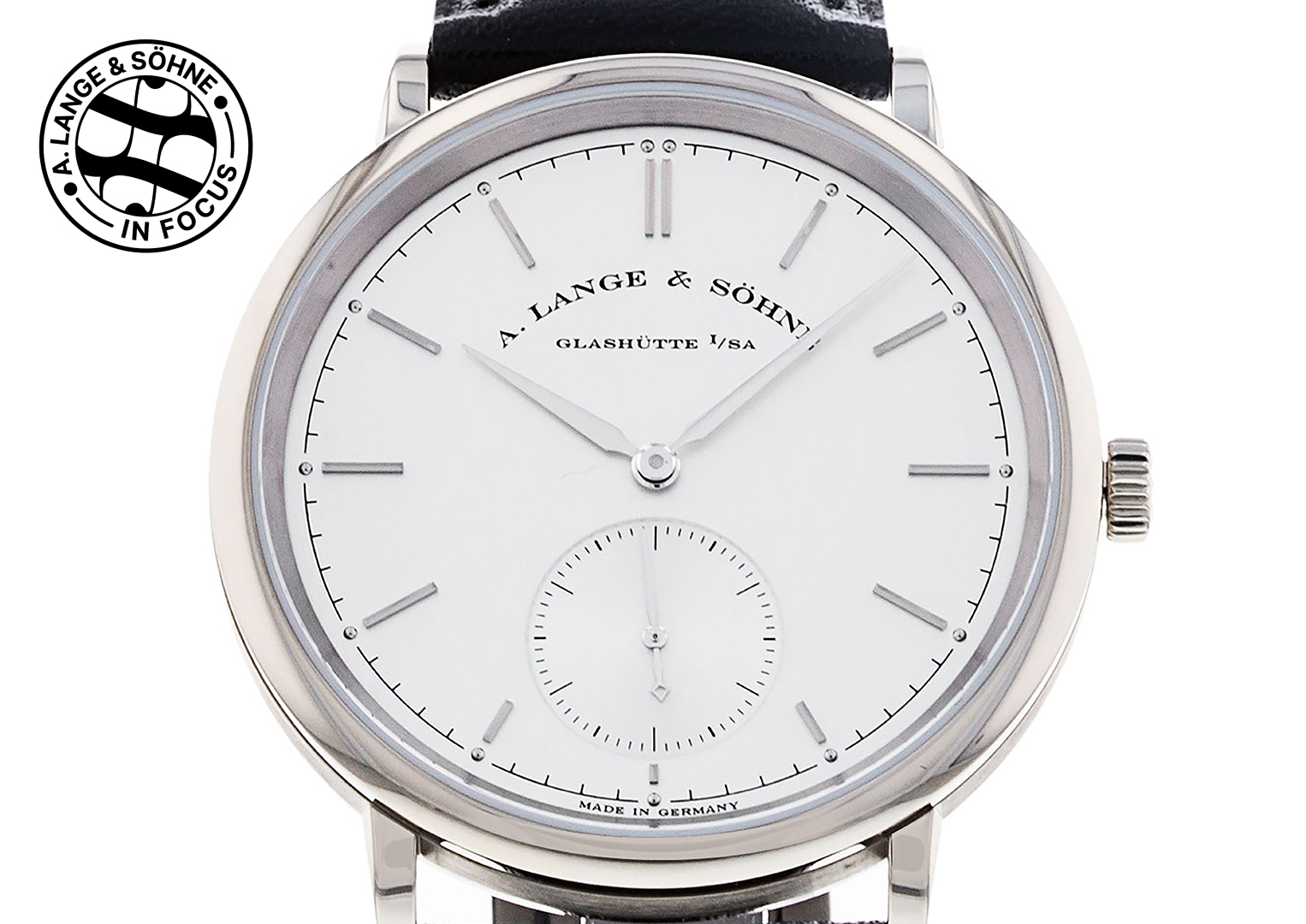 A Lange 1 model, one of the watches that helped re-launch the brand