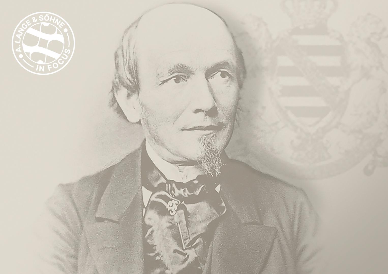 Ferdinand Adolph Lange, founder of A. Lange & Söhne