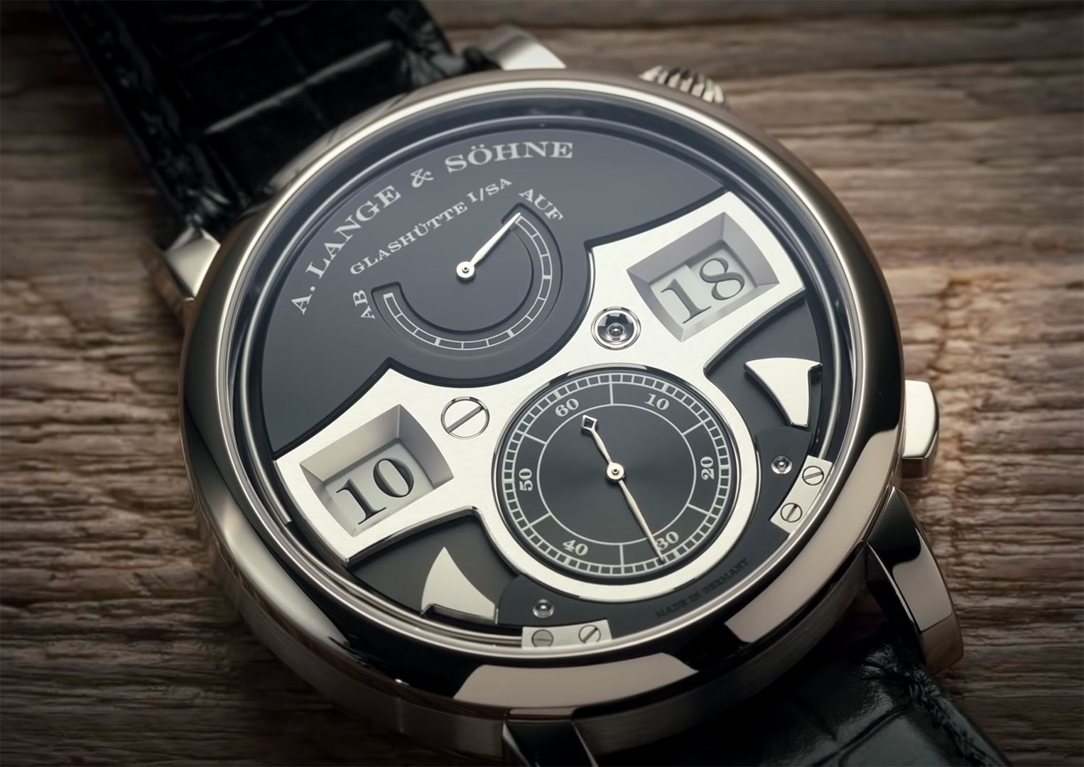 A. Lange & Söhne is a brand from the small town of Glashütte in Germany