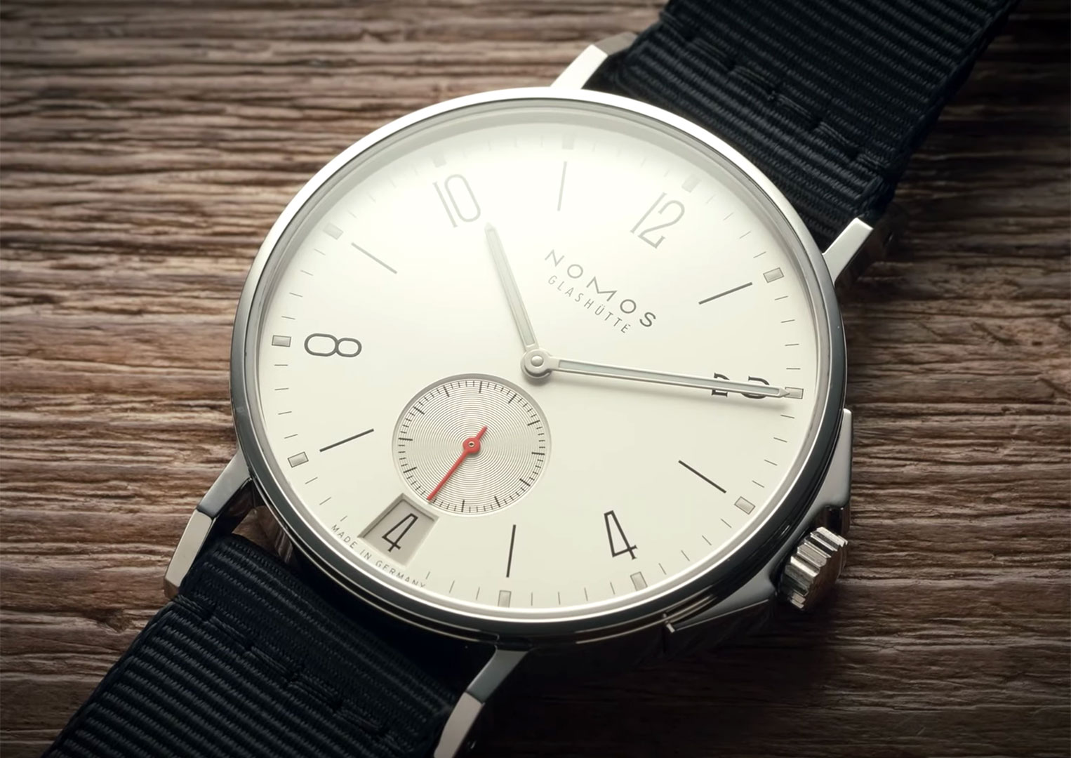 Just like A. Lange & Söhne and Glashütte Original, Nomos is a brand from a small town in Germany called Glashütte