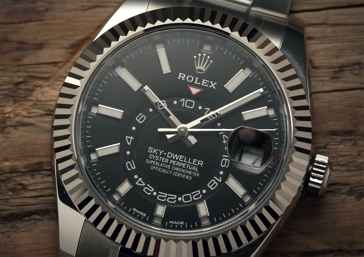 The price of a Rolex Sky-Dweller can range anywhere between £11,850 all the way up to £40,000. The price is dependant on the material the watch is made from
