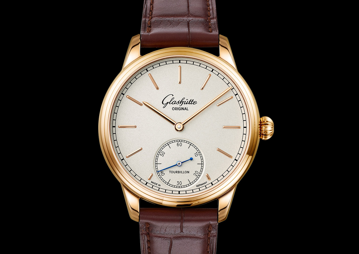 Alfred Helwig invented the flying tourbillon in 1920