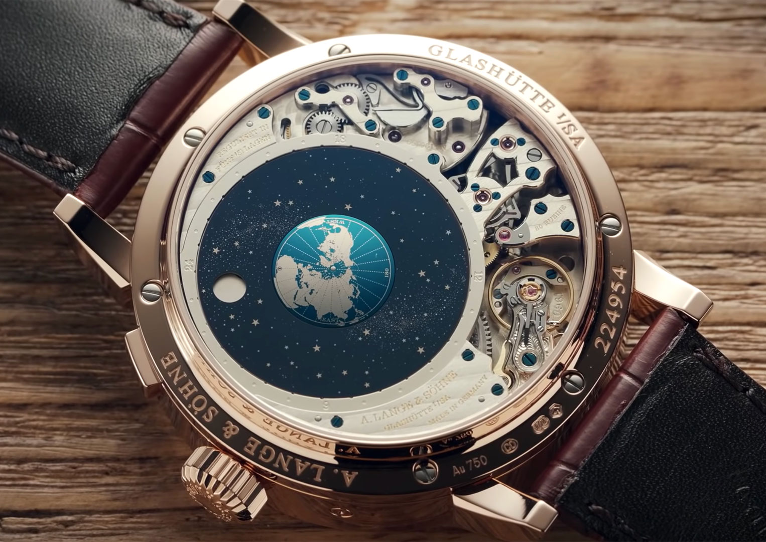 The A. Lange & Söhne Richard Lange Perpetual Calendar Terraluna was first introduced in 2014