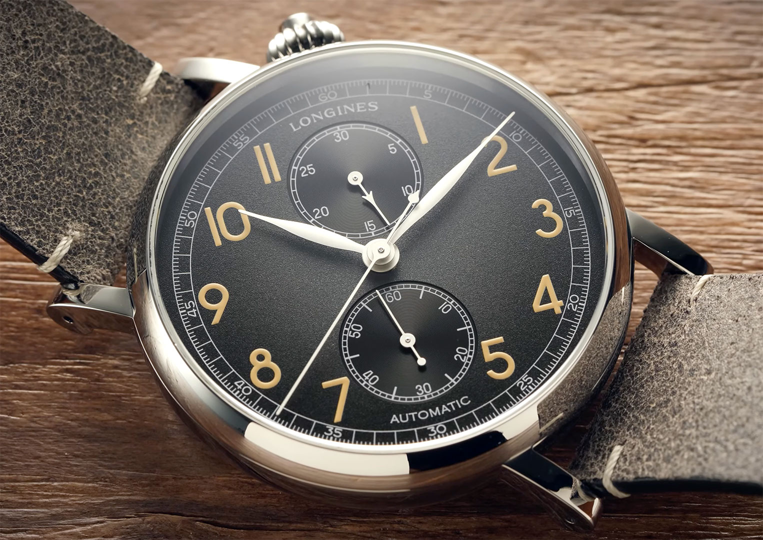 Longines was founded by Auguste Agassiz in 1832, St-Imier, Switzerland