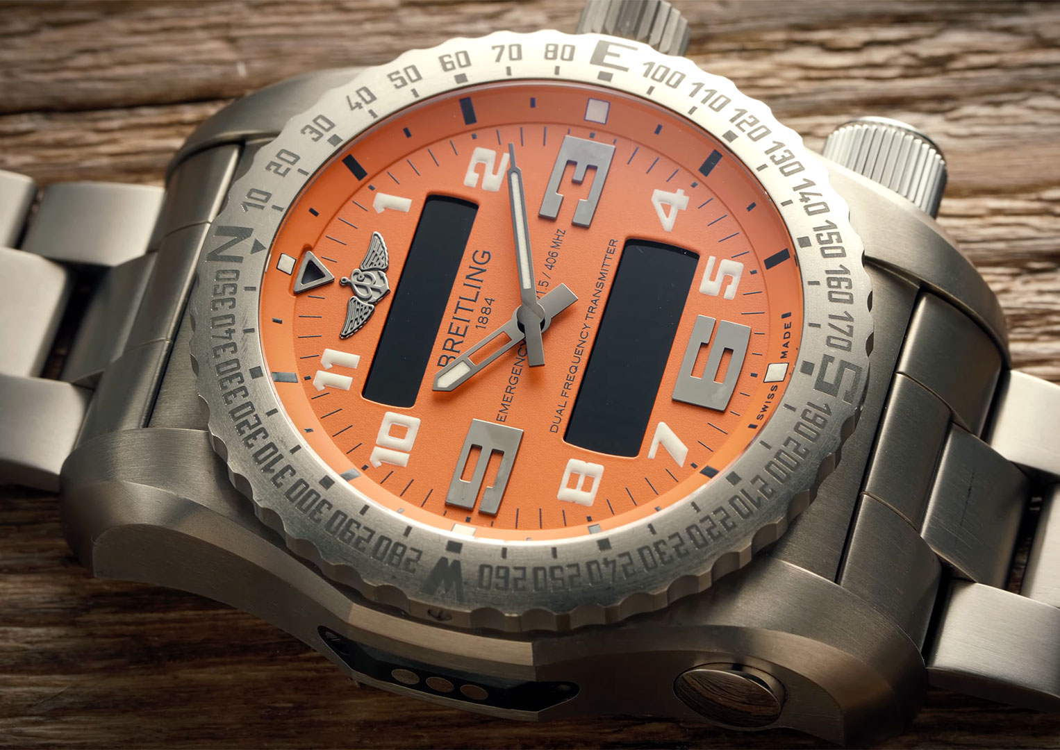 Breitling was founded by Léon Breitling in 1884, St-Imier, Switzerland