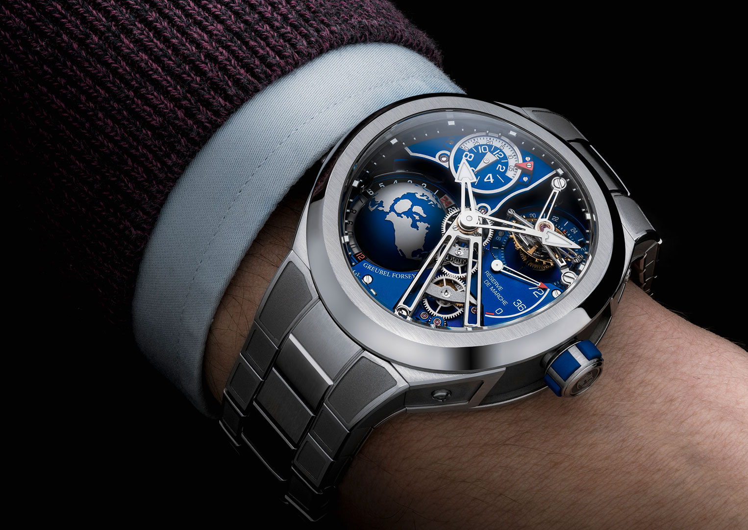 Greubel Forsey was founded in 2004 by Robert Greubel and Stephen Forsey