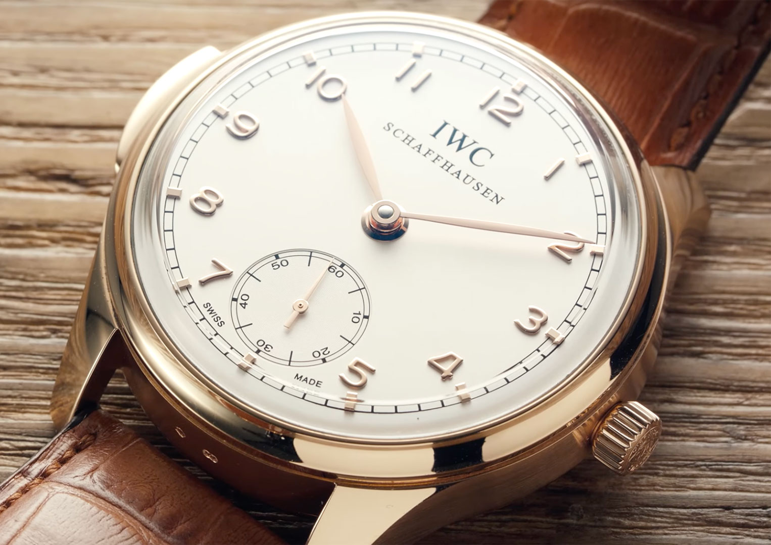 The IWC Portugieser Minute Repeater IW544907