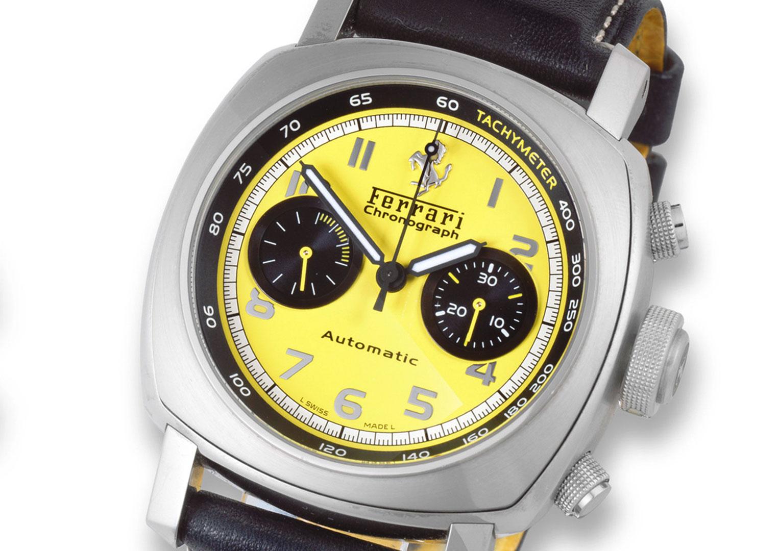 A Panerai Ferrari chronograph