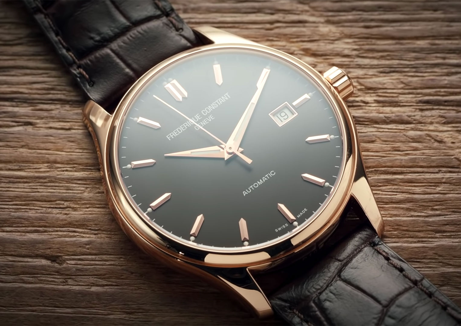Frédérique Constant, as a luxury watch company is fairly new. It was established in 1988