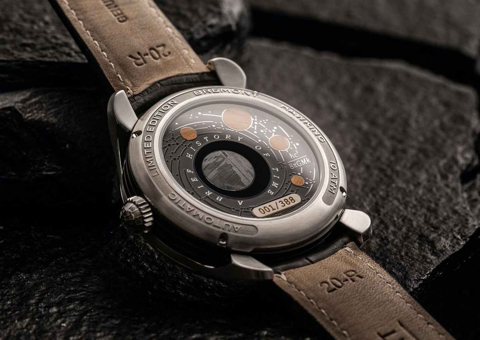 Bremont is famous for its aviation-inspired timepieces