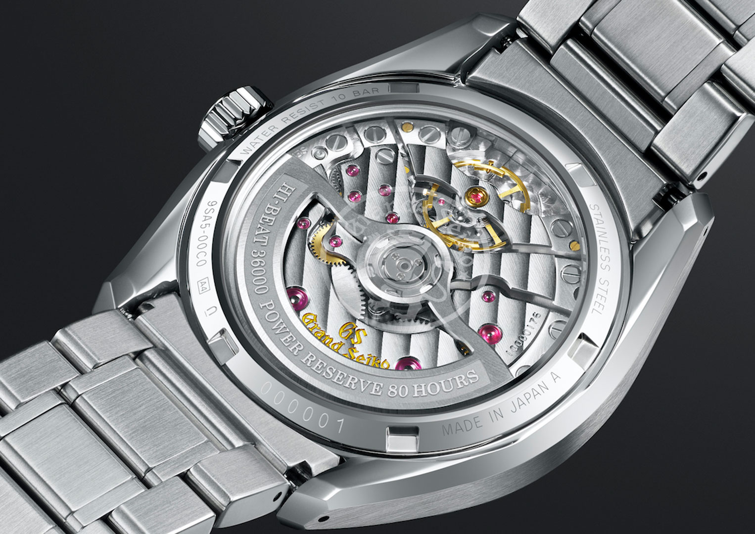 Manufacturing at Grand Seiko is split between two studios. The Shizukuishi Watch Studio which makes all of Grand Seiko's mechanical watches and the Shinshu Watch Studio that makes all of its Spring Drive and quartz-powered watches