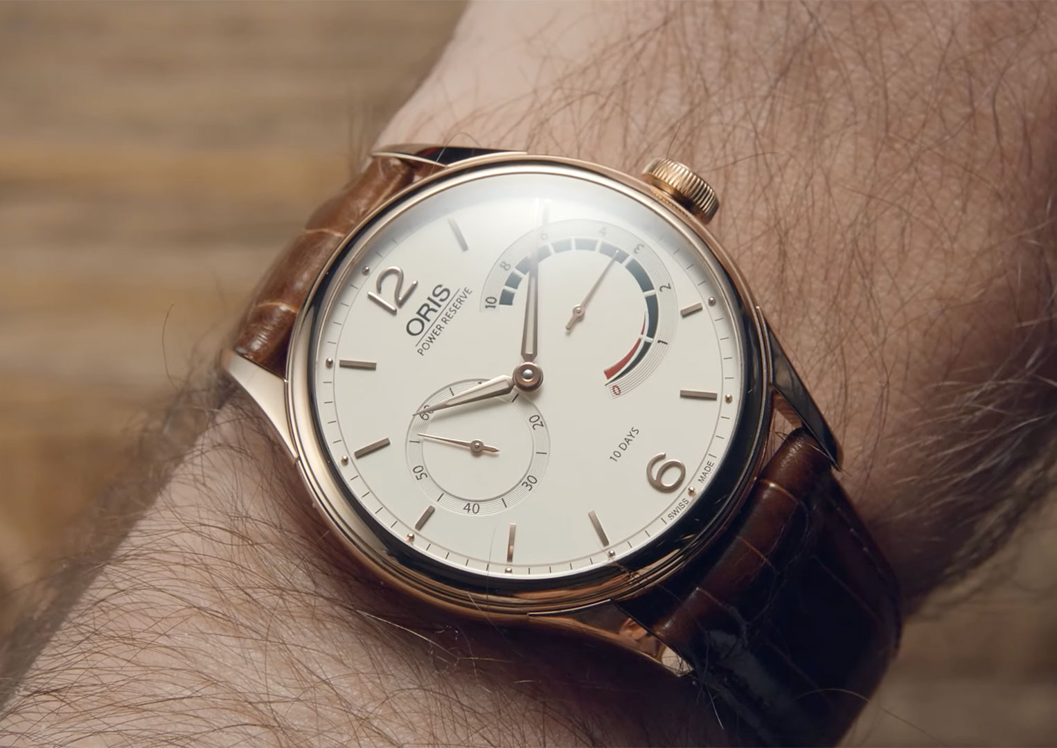 Oris was founded by Paul Cattin and Georges Christian