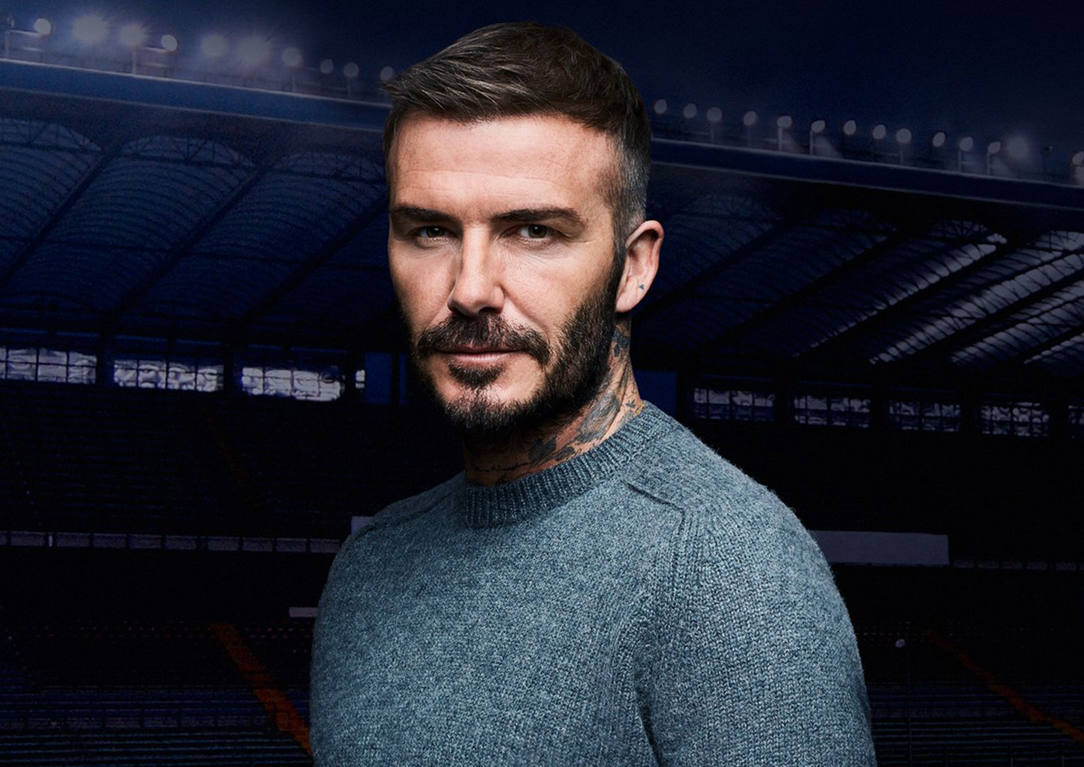 Tudor ambassador, David Beckham