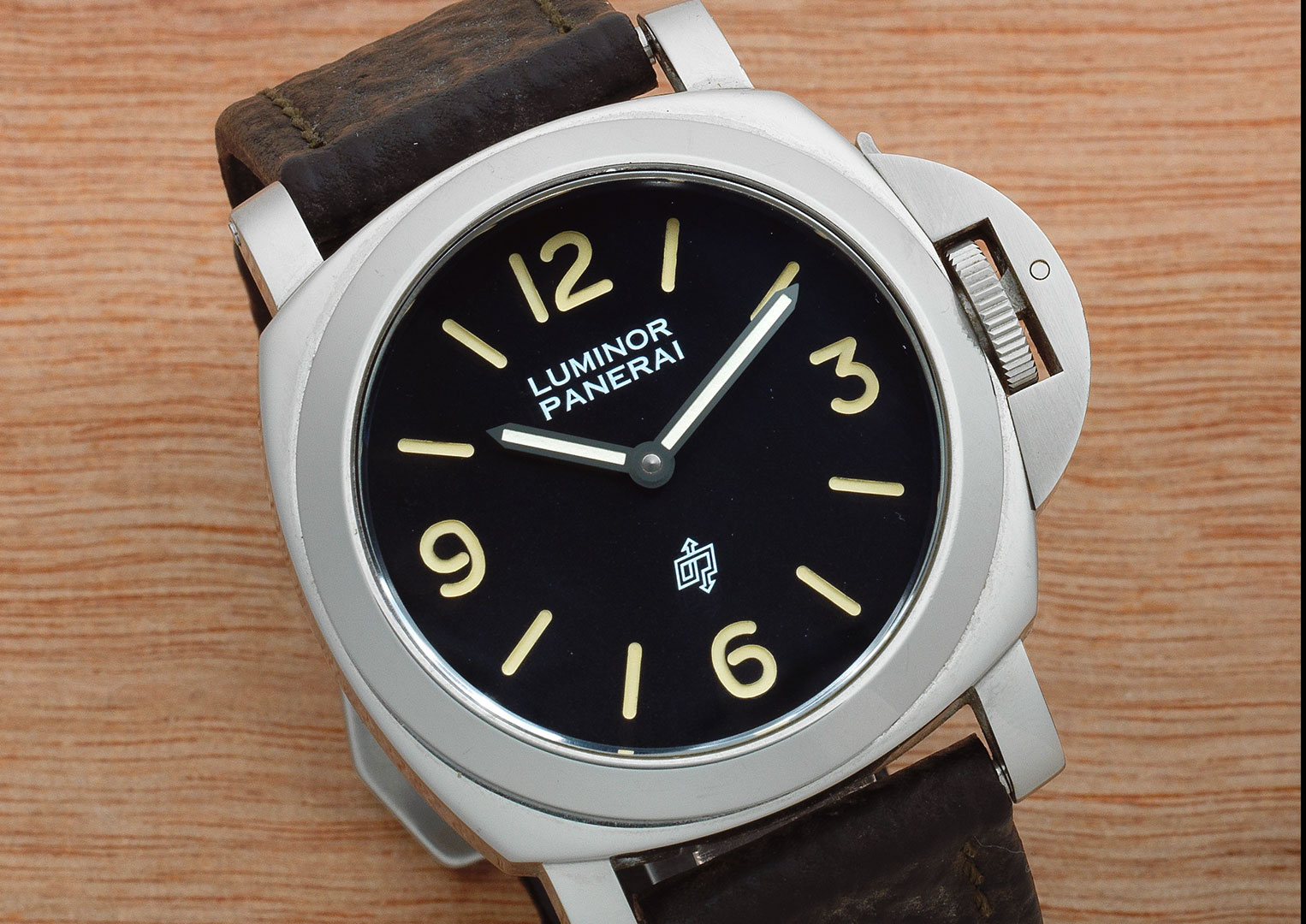 In recent years Panerai has switched to using the perfectly safe Super-LumiNova.