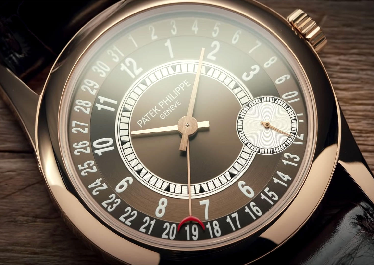 A Patek Philippe can cost anywhere between ten thousand and several hundred thousand pounds