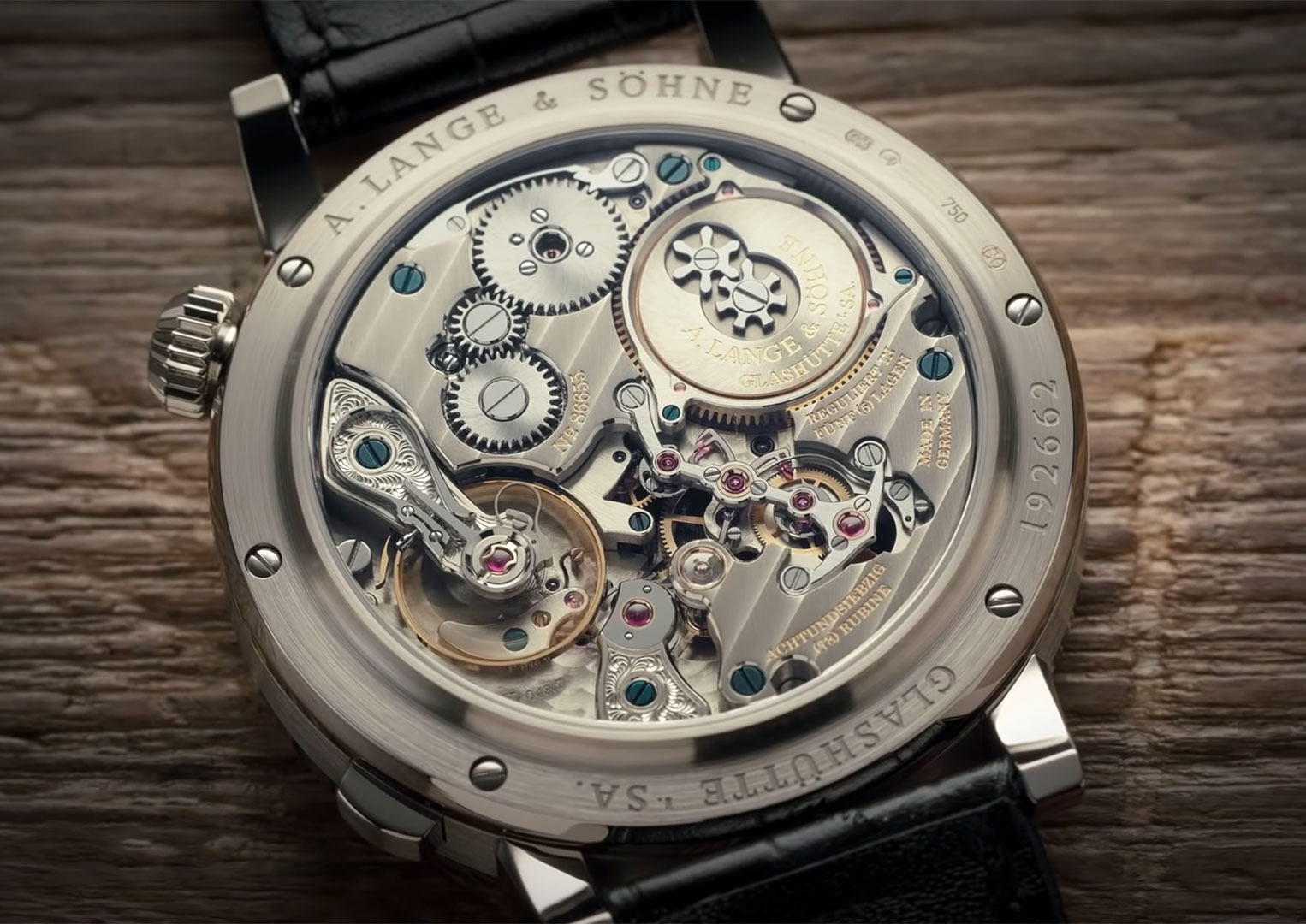 Along with other watch brands like Jaeger-LeCoultre and Vacheron Constantin, A. Lange & Söhne is owned by Richemont SA