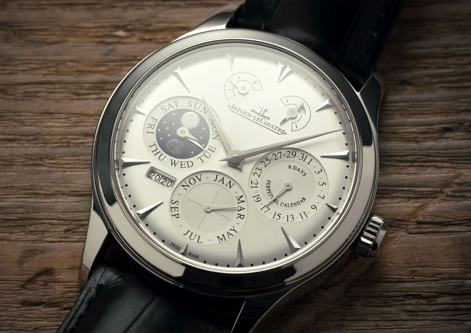 LeCoultre, as the company was originally known, changed its name to Jaeger-LeCoultre in 1937 after a merger with watchmaker Edmond Jaeger