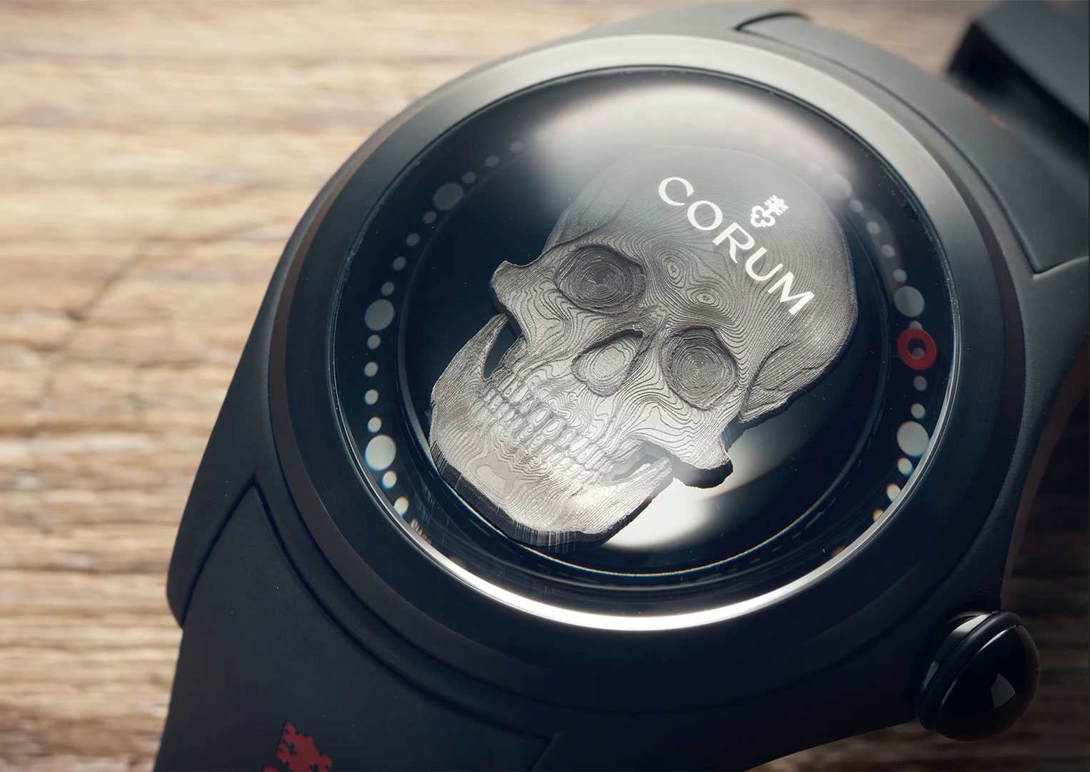 There are only 188 Corum Bubble Magical 3D Skull watches