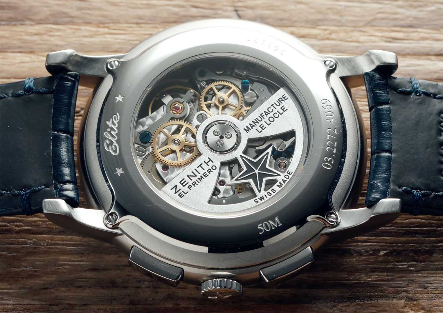 The Zenith El Primero movement could be found within the Rolex Daytona between 1988 and 2000