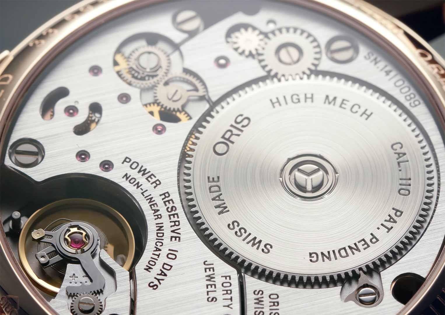 The Oris Calibre 110 was first introduced in 2014
