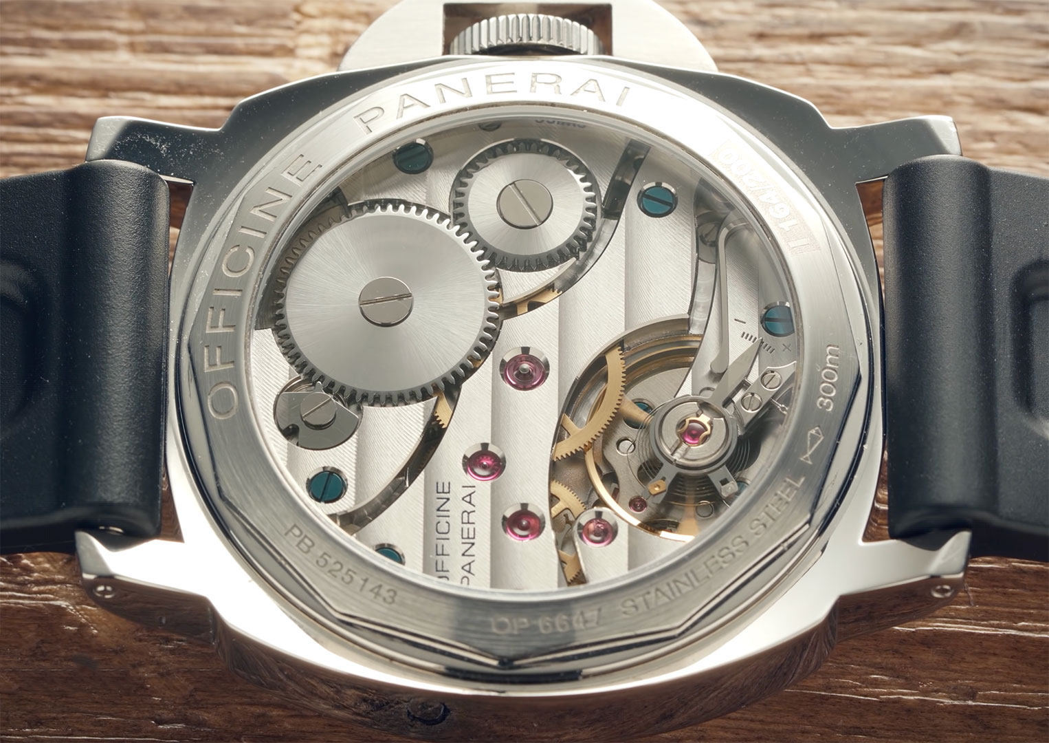The Panerai Luminor was first released in 1955