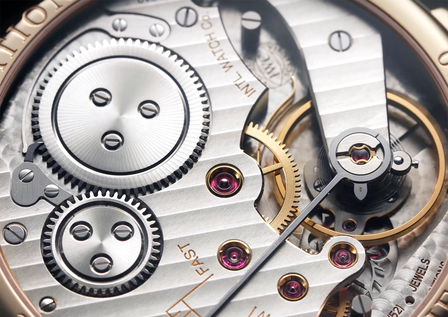 The minute repeater calibre 98950—found in the IWC Portugieser Minute Repeater IW544907—has 402 parts