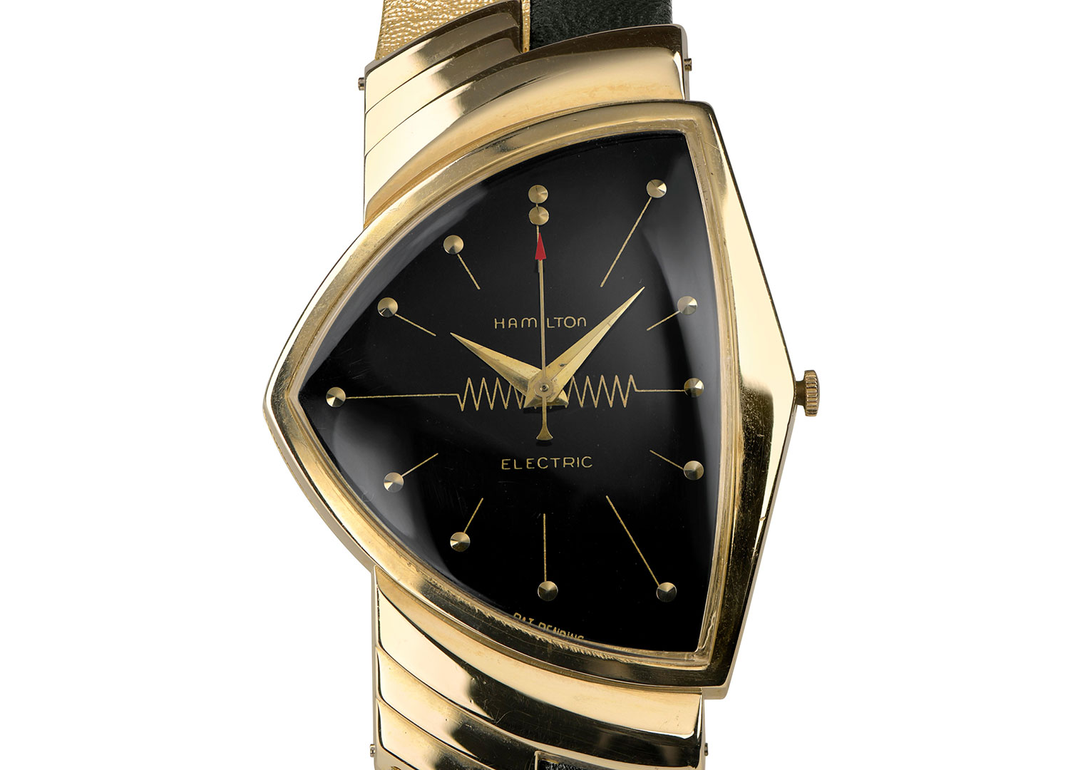 The Hamilton Ventura, released in 1957, was the first electric watch