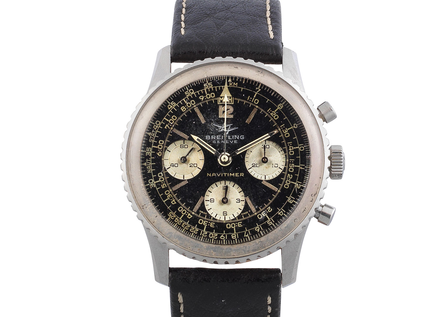 Also seen in Thunderball is a Breitling Navitimer Reference 308