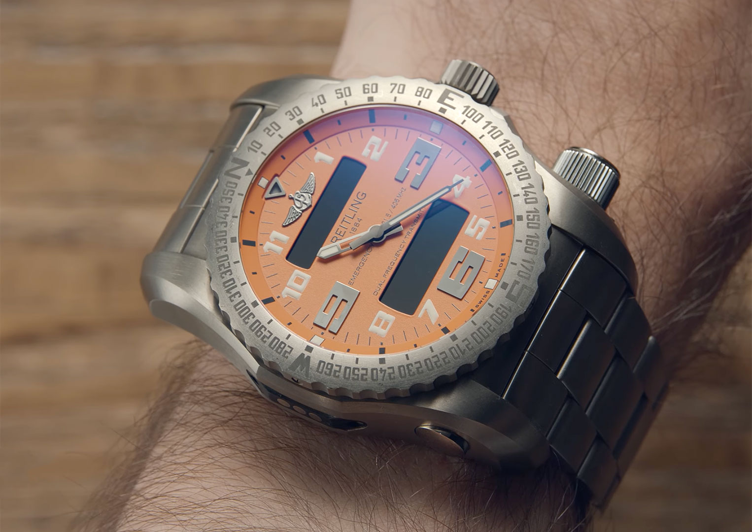 The Breitling Emergency was first introduced in 1995