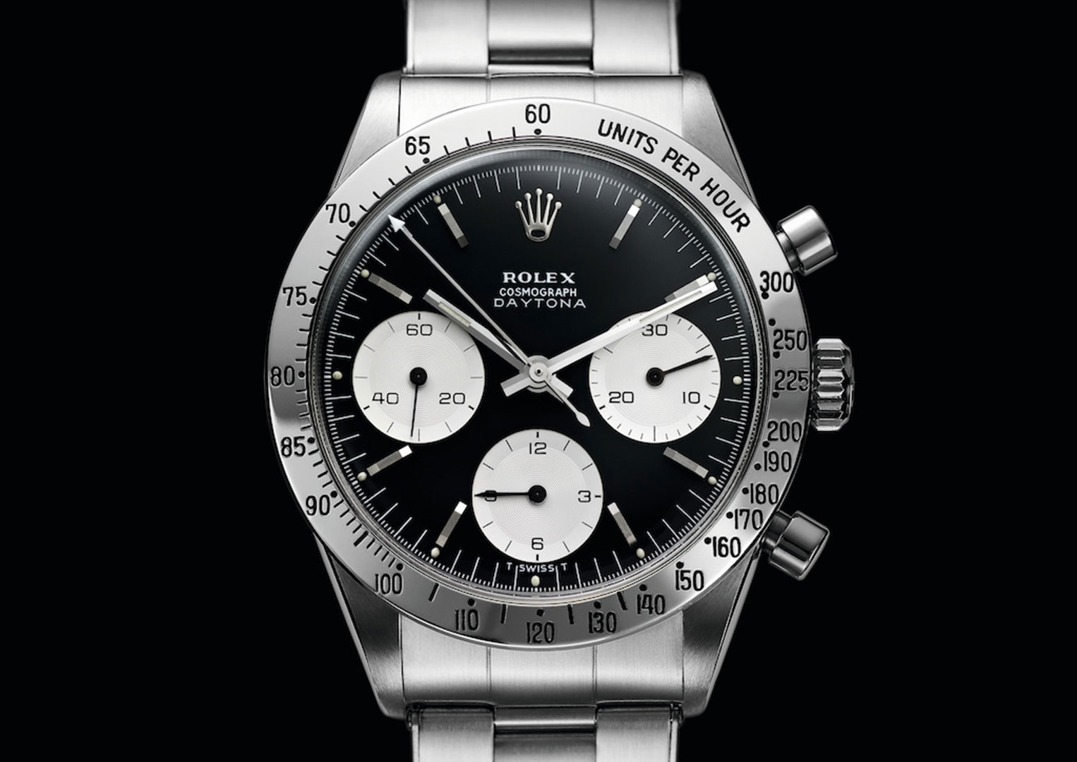 The Daytona Cosmograph, with its Valjoux movement, was not an instant success