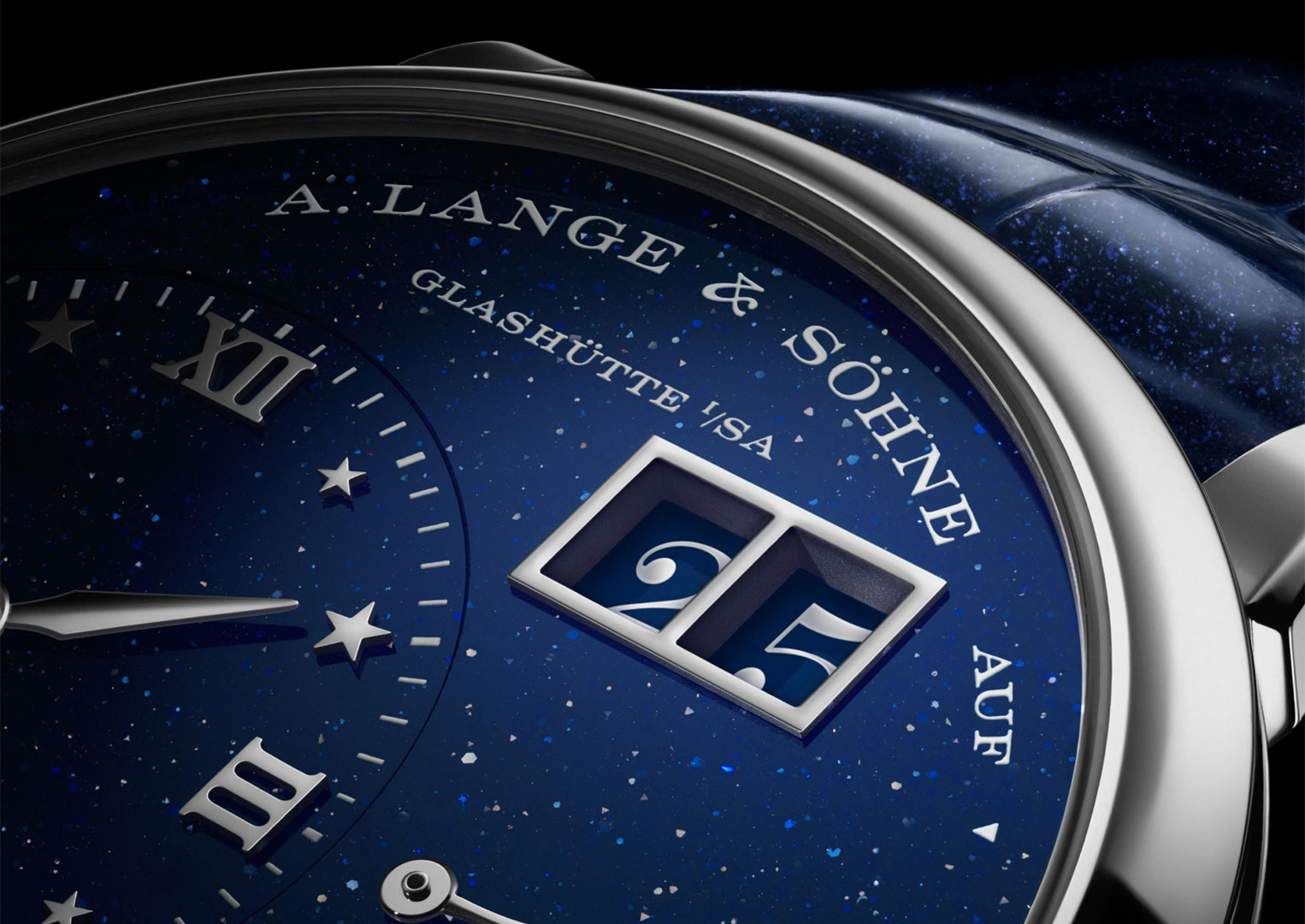 A. Lange & Sohne pays its respects to its founder by invariably using his birthdate