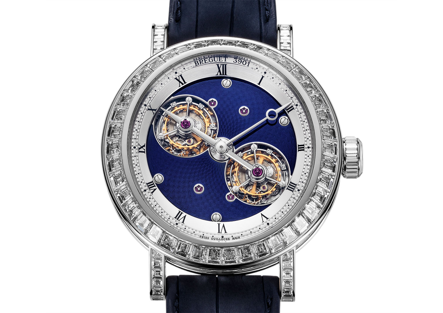 Breguet was founded by Abraham-Louis Breguet in 1775, Paris, France