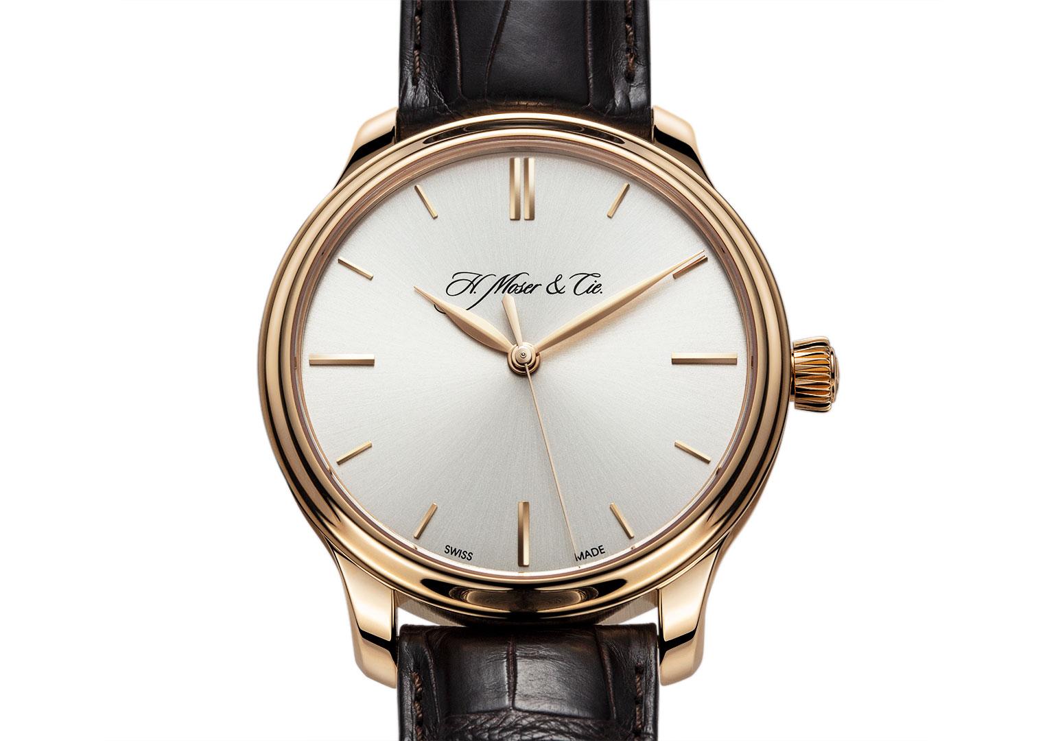 All H. Moser & Cie. watches are made in Schaffhausen, Switzerland