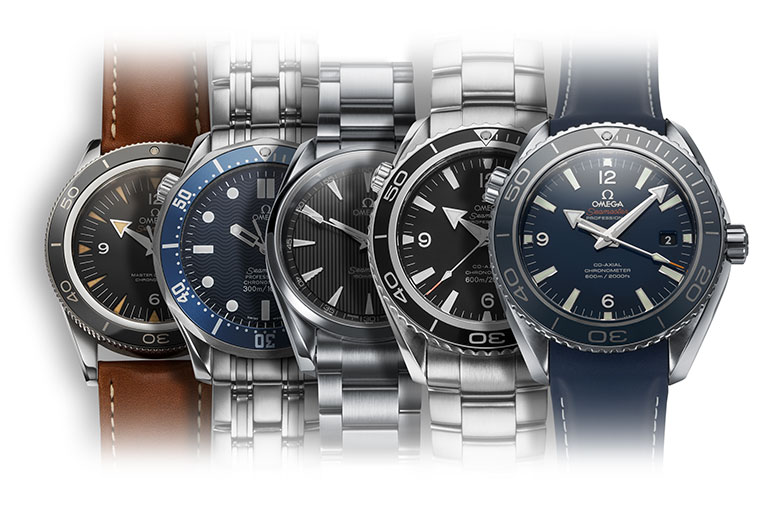 From past to present: Seamaster 300 to Planet Ocean