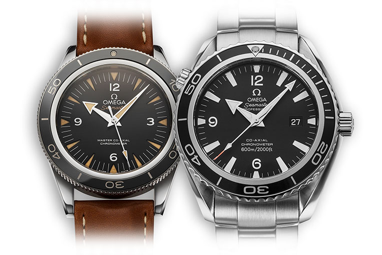 The influence of the Seamaster 300 on the Planet Ocean