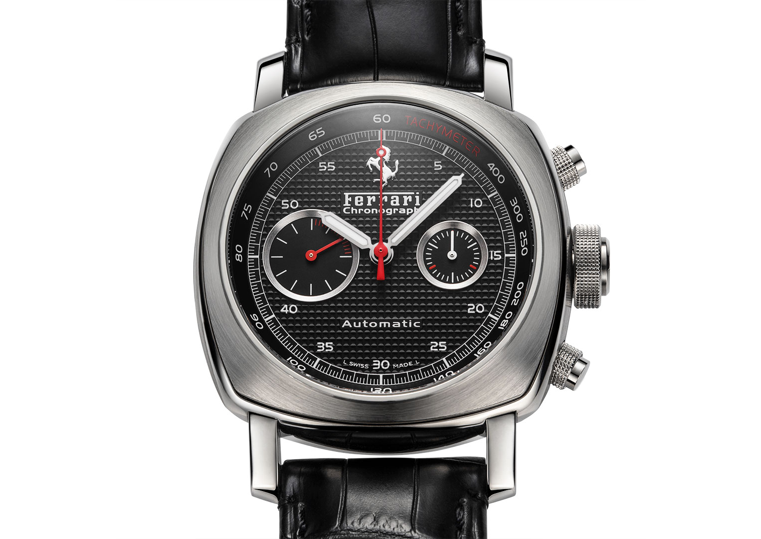 Panerai and Ferrari worked together between 2005 and 2010