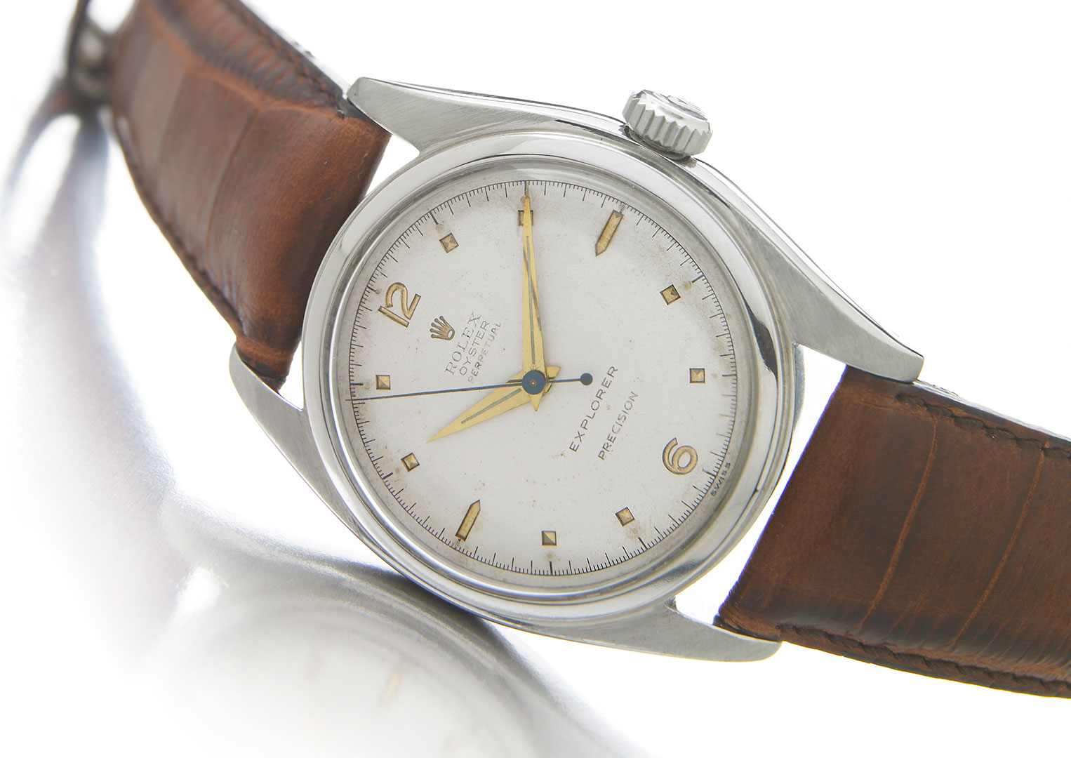 A Rolex Explorer Reference 6098 from 1953. Image courtesy of Bonhams
