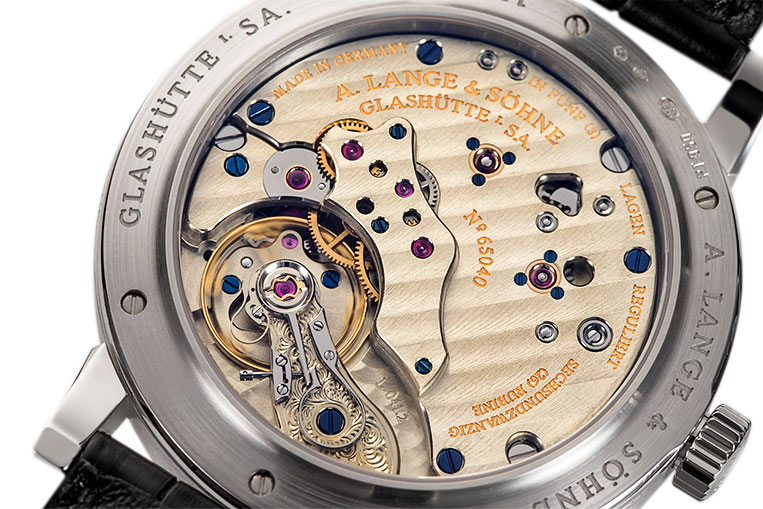 The calibre L041.2 is an example of the very best of German watchmaking